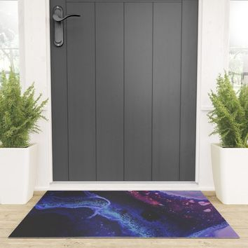 Astral Plane Welcome Mat by duckyb