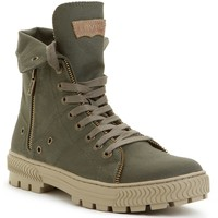 Levi's Canvas Sahara Hi-Top Boots