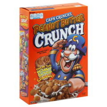 Cap'n Crunch's Peanut Butter Crunch, 12.5 oz - Kmart