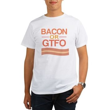 Bacon or GTFO Organic Men's T-Shirt