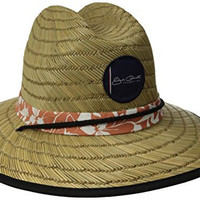 Jack O'Neill Men's Sol Straw Surf Hat, Multi, One Size