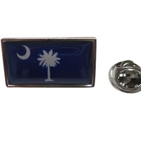 South Carolina Flag Design Lapel Pin