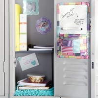 Gear-Up Neon Patchwork Locker Dry-Erase Pocket