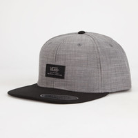 Vans Edgewood Mens Snapback Hat Gray One Size For Men 25804011501