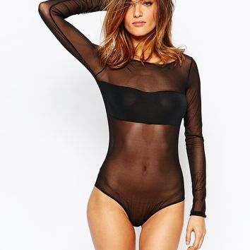 Maison Close Pure Temptation Long Sleeve Body