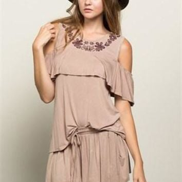 BUY THE OUTFIT Boho Skort and Top SET