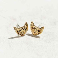 Datter Industries Tiny Cat Stud Earring