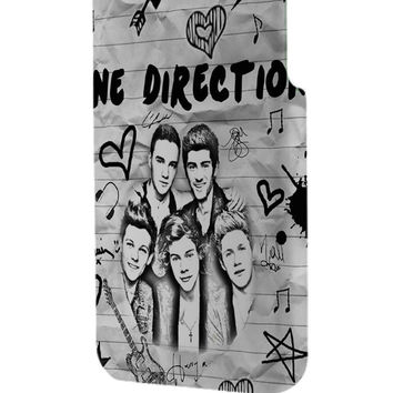 Best 3D Full Wrap Phone Case - Hard (PC) Cover with One Direction Midnight Memories Design