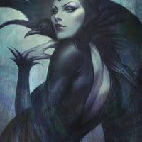 Wicked Art Print by Artgerm™