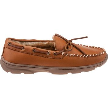Magellan Outdoors™ Men's Elk Leather Moccasin Slippers