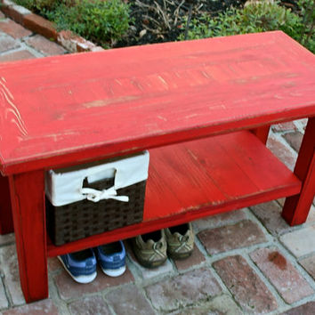 Mud Room - Entry Bench - Storage and Organization - Entryway - Home Decor