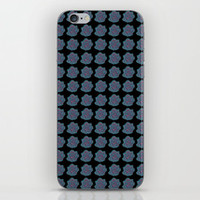 Turquoise Rose iPhone Skin by drawingsbylam