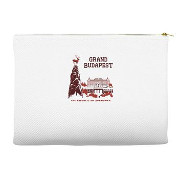 grand budapest hotel Accessory Pouches