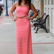 Sweet-Heart Maxi in Coral
