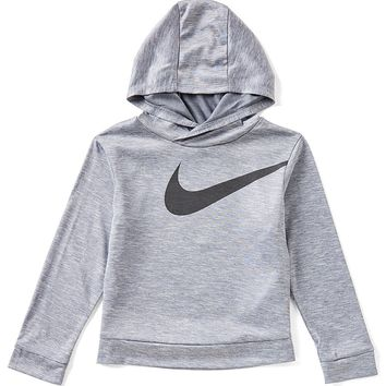 Nike Little Boys 4-7 Dri-FIT Swoosh Pullover Hoodie | Dillards