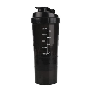 500ml Protein Mixer Shaker Shaking Cup Bottle Water Drinkware Barware  Sports Fitness Gym Drinkware Tool