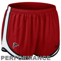 Nike Atlanta Falcons Women's Tempo Performance Running Shorts - Red
