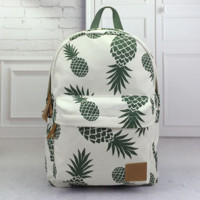 Pineapple Backpack Travel Bag School