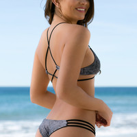 Mary Grace Swim - Camilla Reversible Bottom | Snake