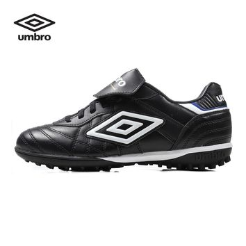 Umbro Professional Men  Soccer Shoes Lightweight Damping Soccer Shoes Male Wear-Resistance Lace-Up Sneakers  Ucb90117