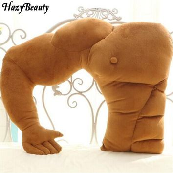 Soft Body Pillows cute Muscular boyfriend arm pillow shape large comfort pillow warm arm pillow birthday gift for girlfriend
