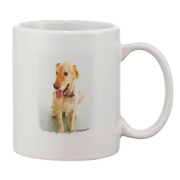 Golden Retriever Watercolor Printed 11oz Coffee Mug