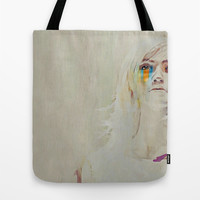 Human  Tote Bag by Galen Valle