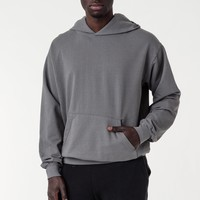 MWT09GD - Long Sleeve Garment Dye French Terry Pullover Hoodie