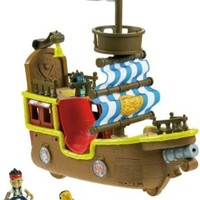 Fisher-Price Disney's Jake and The Never Land Pirates - Jake's Musical Pirate Ship Bucky [Amazon Exclusive]