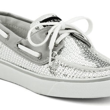Add Sparkle with Women's Sequin Bahama Boat Shoes | Sperry Top-Sider