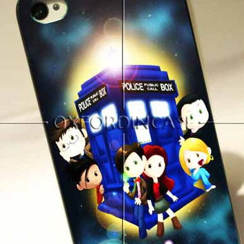 Home is where the tardis - for iPhone 4/4S case iPhone 5 case Samsung Galaxy S2/S3/S4 Case hard case