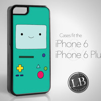 PRE-ORDER - iPhone 6 Case - Adventure Time Inspired BMO Beemo Funny - iPhone 6 / 6 Plus Cover IP6