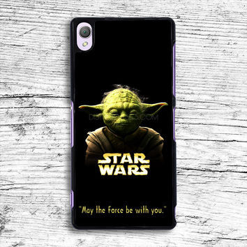 yoda star war quote Sony Xperia Case, iPhone 4s 5s 5c 6s Plus Cases, iPod Touch 4 5 6 case, samsung case, HTC case, LG case, Nexus case, iPad cases
