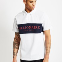 Billionaire Boys Club Monaco Polo Shirt White at The Idle Man