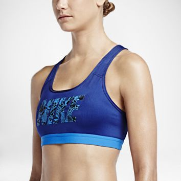 Nike Pro Classic Logo Compression Women's Sports Bra