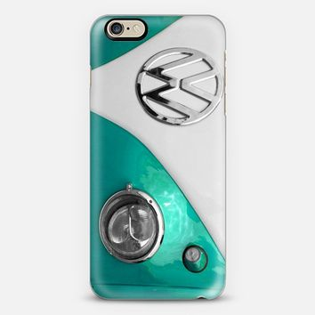 VW Splitty Teal iPhone 6 case by Alice Gosling | Casetify
