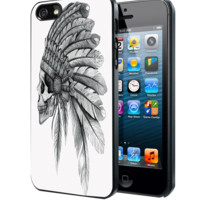 Skull Indian Chief Samsung Galaxy S3 S4 S5 Note 3 , iPhone 4 5 5c 6 Plus , iPod 4 5 case
