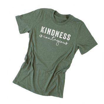 Kindess is Contagious Graphic Tee