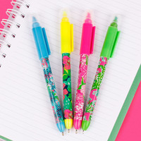Lilly Pulitzer Pen with Highlighter Set | Lifeguard Press