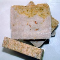 Lemon Zinger Handcrafted Soap All Natural Vegan Friendly by lanmom on Zibbet