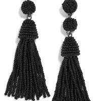 BaubleBar Granita Beaded Tassel Earrings | Nordstrom