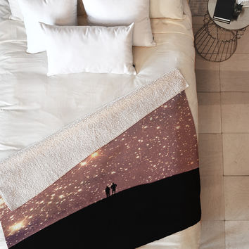 Shannon Clark Stargaze Fleece Throw Blanket
