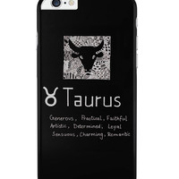 Taurus| Zodiac Sign Gifts iPhone 6 Plus / 6S Plus Cover