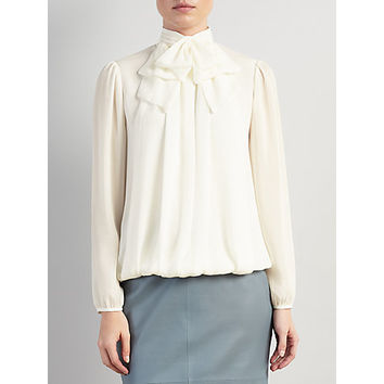 Buy Somerset by Alice Temperley Bow Blouse | John Lewis