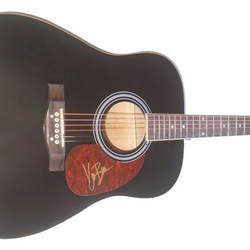 Kane Brown Autographed Full Size 41 Inch Country Music Acoustic Guitar, Proof Photo