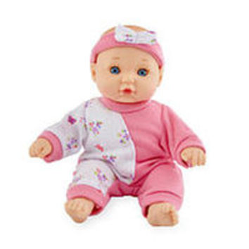 You & Me 8 inch Mini Baby Doll - Pink