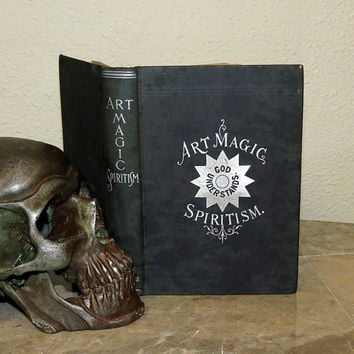 Art Magic Spritism  Antique 1898 Occult Book  1st by CosmicLibrary