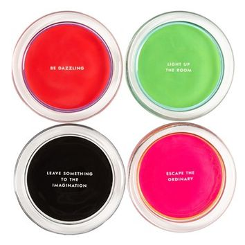 kate spade new york 'fairmount park - neon sign' coasters (set of 4)