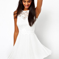 New Lace Embroidered Halter Slim Dress &Party Dress