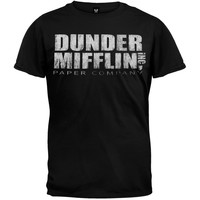 The Office - Dunder Mifflin Black T-Shirt